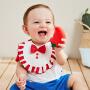 【99任选3件:33】迷你巴拉巴拉婴儿口水巾莫代尔口水兜围兜男女宝宝围嘴夏新款