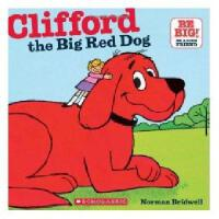 英文原版儿童书Clifford The Big Red Dog (Audio)大红狗(含CD)有声读物