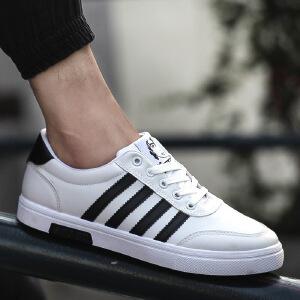 2017新款运动鞋男士小白鞋韩版潮流运动学生板鞋透气男鞋06HR