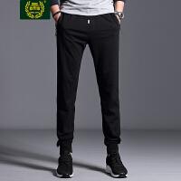 ZHAN DI JI PU战地吉普夏季收口直筒卫裤 直筒宽松休闲裤 男士运动长裤户外跑步健身裤