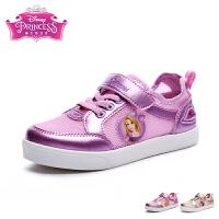 迪士尼Disney童鞋中小童男女童鞋17新款魔术贴休闲板鞋运动鞋网鞋旅游鞋
