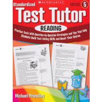 Standardized Test Tutor: Reading: Grade 5 学乐标准测试指导:5年级阅读 ISBN9780545096034