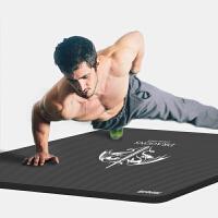 瑜伽�|加厚初�W者�\��|子瑜珈�|健身�|男士三件套平板支��| 【��】灰色 80CM