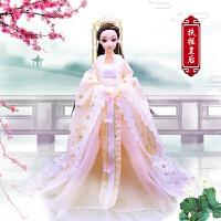 20190712192744056古风芭比娃娃 中国古装娃娃衣服民族古代仙女公主精美古风服饰女孩换装玩具
