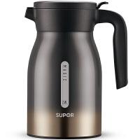 苏泊尔(SUPOR) 保温壶家用大容量304不锈钢真空保温瓶办公热水瓶2.3L咖啡壶茶水壶暖瓶 KC23BW1