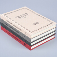 复古简约加厚笔记本A5创意文艺中学生日记本办公记事本子韩国文具
