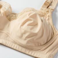 哺乳文胸全罩杯超薄夏季喂奶胸罩上托舒适透气水睡眠大码70D-90F 肤色