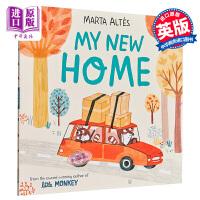 【中商原版】Marta Altés:我的新家 My New Home 平装 精品绘本 环境适应交友认知启蒙绘本 心里成长