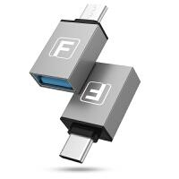 OTG转接头Type-c转USB数据线5乐视小米5/6转接头华为手机U盘连接