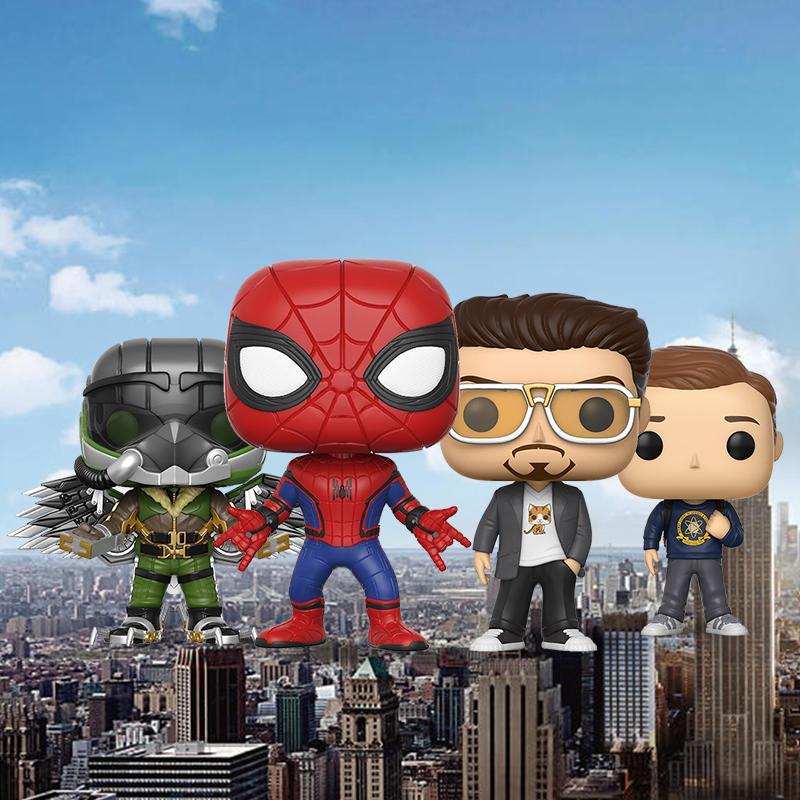 蜘蛛侠托尼斯塔克钢铁侠手办玩具模型公仔