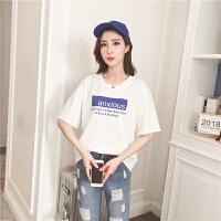 T恤女夏季新款bf风短袖体恤宽松半袖上衣服韩版学生百搭闺蜜装潮 K--702白色