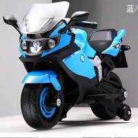 儿童电动摩托车 大号可坐人宝宝四轮电瓶玩具车 小孩摩托车