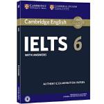 剑桥雅思官方真题集6 剑桥大学考试委员会 Cambridge University Press 97811086478