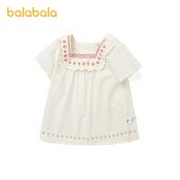 【3件5折价:70】巴拉巴拉宝宝公主裙女童连衣裙夏婴儿裙子洋气文艺清新甜