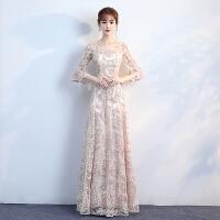 伴娘服2018新款韩版香槟色短款派对小礼服聚会连衣裙宴会晚礼服女