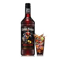 【1919酒类直供】牙买加 40°摩根船长黑朗姆酒700ML进口洋酒烘培 Captain Morgan鸡尾酒调酒基酒
