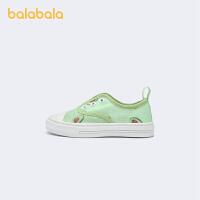 巴拉巴拉官方童鞋小白鞋女童儿童帆布鞋男宝宝夏季鞋子