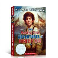 英文原版小说The Mostly True Adventures of Homer P. Figg 小荷马的大冒险 荣
