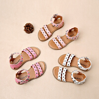 女童凉鞋新款公主夏季儿童沙滩鞋中大童小女孩童鞋子