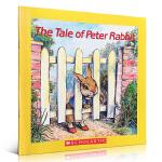 英文原版绘本 The Tale of Peter Rabbit 比特兔电影童话故事幼儿趣味启蒙阅读睡前辅导英语书