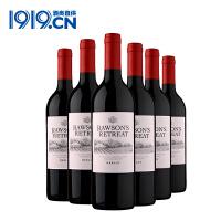 奔富洛神山庄梅洛干红葡萄酒750ml6瓶红酒【1919酒类直供】