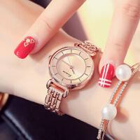 艾奇 金米欧石英表简约休闲手链表钢带表淑女时尚女士腕表