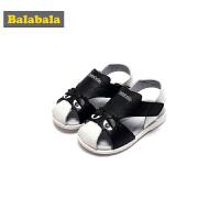 巴拉巴拉童鞋男童凉鞋小童夏装新款儿童包头单鞋牛皮鞋子休闲