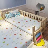 拼接床小床婴儿床实木儿童床带护栏单人男孩女孩公主床小孩床宽