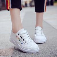 小白鞋女夏2018新款百搭女鞋韩版学生平底鞋休闲运动鞋单鞋春秋季