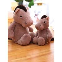 小马毛绒玩具公仔大玩偶睡觉抱女生布娃娃女孩情人节礼物送女友
