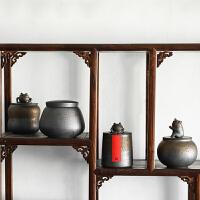 陶瓷茶叶罐纯手工蟾蜍醒茶罐普洱茶仓功夫茶具