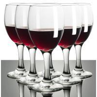 利比红酒杯玻璃高脚杯大号家用葡萄酒杯子6只套装醒酒器杯架酒具