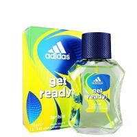 阿迪达斯(adidas) 西班牙 原产 男士香水 冰点男款运动型 持久清新淡香水 Ready-预备-100ml