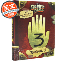 怪诞小镇 迪普日记 日志典藏版 英文原版 Gravity Falls Journal 3 解密日记 Alex Hirs