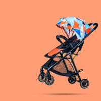 婴儿推车高景观可坐可躺折叠简易超轻便携式小孩儿童手推车