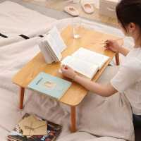床上小桌子笔记本电脑桌大学生宿舍床上书桌折叠桌懒人学习桌