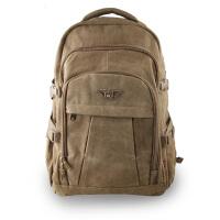 户外旅行背包双肩包运动包大容量男士帆布休闲背包多功能复古包旅游包