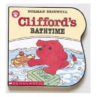 英文原版儿童书 Clifford\'s Bathtime 大红狗系列