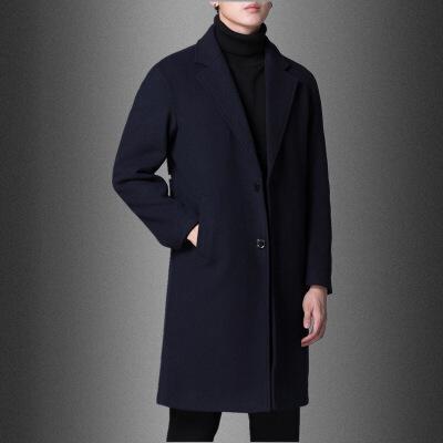 毛呢大衣男中长款冬季加厚韩版宽松落肩羊毛呢子外套妮子风衣羊绒 发货周期:一般在付款后2-90天左右发货,具体发货时间请以与客服协商的时间为准
