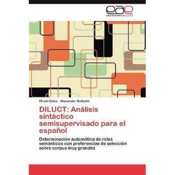 【预订】Diluct: An Lisis Sint Ctico Semisupervisado Para El 美国库房发货,通常付款后3-5周到货!