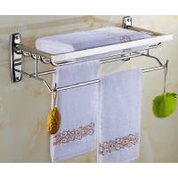 不锈钢浴巾架 卫生间浴室挂件卫浴五金挂件