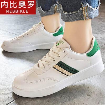 女鞋春季2018新款板鞋百搭小白鞋韩版休闲鞋