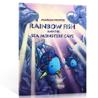英文原版 Rainbow Fish and the Seamonsters' Cave 彩虹鱼系列:我才不怕呢 绘本书