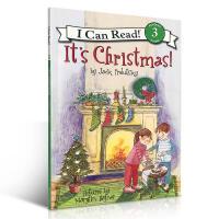 英文原版 It's Christmas!汪培�E I can read It's Christmas!圣诞节 level