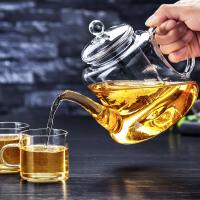 玻璃茶壶家用泡茶器耐热玻璃过滤泡茶壶套装茶具