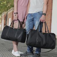 女单肩男士旅行包袋手提包大容量尼龙男出差短途行李包运动