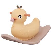 厚一周岁节日礼物 木马儿童宝宝摇摇马摇椅宝宝婴儿玩具塑料