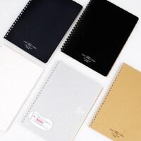 日本KOKUYO国誉softring易撕软线圈笔记本5mm方格/点阵/空白/横线不硌手螺旋本A5/B5记事本