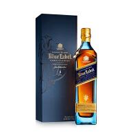 宝树行 尊尼获加蓝牌750mL Johnnie Walker调配型苏格兰威士忌原装进口洋酒