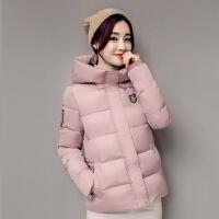 慈姑棉衣女短款宽松韩版学生外套冬装羽绒女bf时尚可爱小棉袄 M 适合约85-95斤